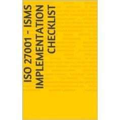ISO 27001 - ISMS Implementation Checklist (English Edition)