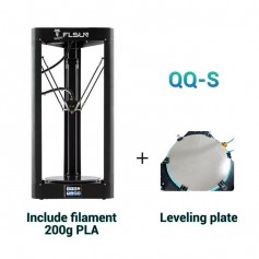 FLSUN QQ-S 2019 High speed Delta 3D Printer, Large Plus Size 255*360mm kossel 3d-Printer Upgrade Auto-leveling touch screen - 1