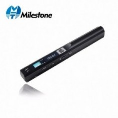 Milestone Portable Scanner wireless USB document A4 paper book color photo image scan handheld JPG and PDF iscan01 - 1