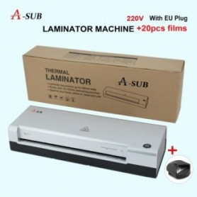 A4 Laminator,laminating Machine 2 Roller System for Use for Home, Office or School, Suitable for use with Photos - 1